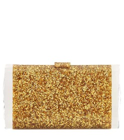 Edie Parker Lara Solid box clutch