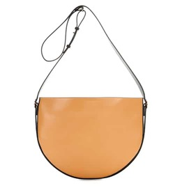 Victoria Beckham Small Half Moon leather shoulder