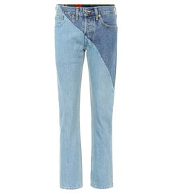 Vetements X Levi's® reworked high-waisted jeans