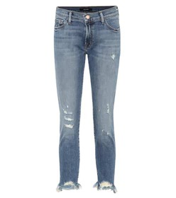 J Brand Sadey low-rise cropped jeans