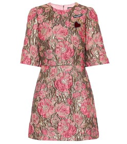 Dolce & Gabbana Brocade minidress