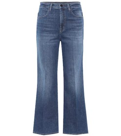 J Brand Joan high-waisted cropped jeans