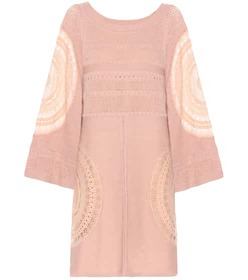 Chloé Silk-blend dress