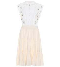 Chloé Embellished midi dress