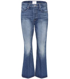 Frame Le Crop Flare mid-rise jeans