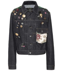 Dolce & Gabbana Embellished denim jacket