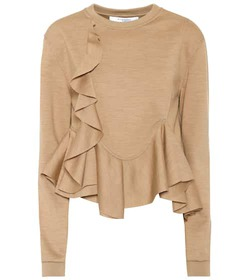 Givenchy Wool-jersey top