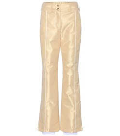 Fendi Metallic ski trousers