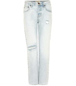 Current/Elliott The Crossover distressed cropped j