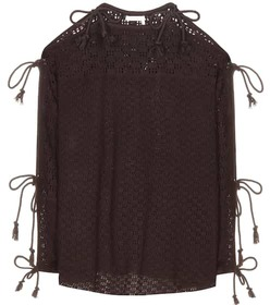 See By Chloé Knitted open-shoulder top