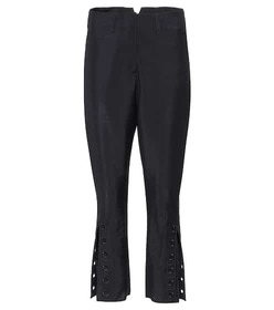Fendi Mohair and wool cropped trousers