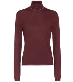 Bottega Veneta Silk-blend turtleneck