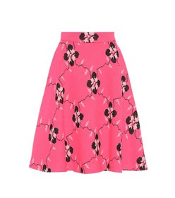 Miu Miu Knitted wool-blend skirt