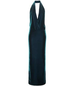 Tom Ford Velvet halter dress