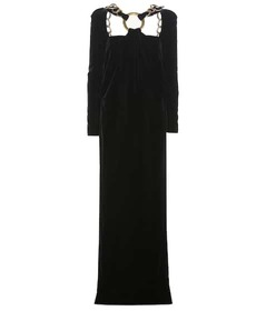 Tom Ford Embellished velvet gown