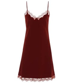 Chloé Silk-crêpe slip dress