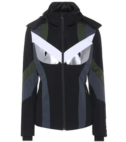 Fendi Panelled ski jacket