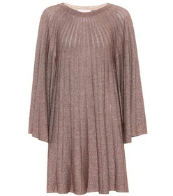 Chloé Metallic knit dress