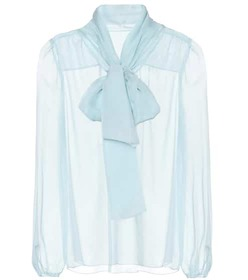 Dolce & Gabbana Sheer silk blouse