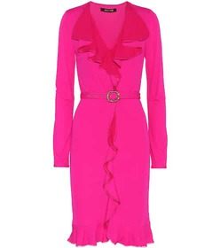 Roberto Cavalli Belted dress