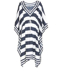 Dolce & Gabbana Striped silk kaftan