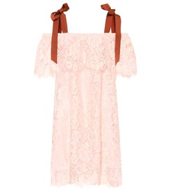 Ganni Duval lace dress