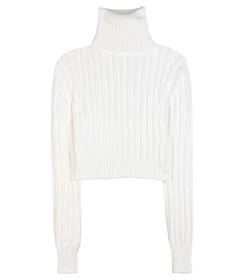 Calvin Klein Collection Cropped turtleneck sweater