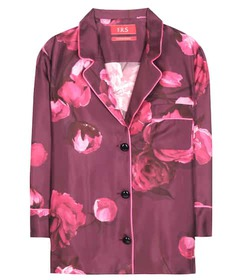 F.R.S For Restless Sleepers Floral-printed silk py