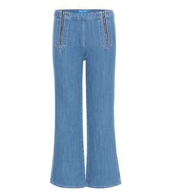 M.i.h Jeans Arrow flared cropped jeans