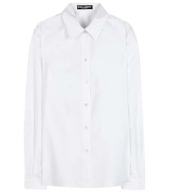 Dolce & Gabbana Silk and cotton-blend shirt