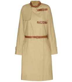 Isabel Marant Hanya cotton and linen coat