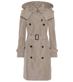 Burberry Technical fabric trench coat