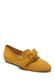 Etienne Aigner Chiara Suede Bow Loafer