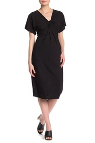 B Collection by Bobeau Aubri Twist Front Dress