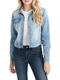 Jessica Simpson Pixie Denim Jacket MAUDE BLUE