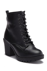 Ziginy Kourtlan Lace Up Ankle Boot