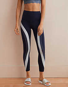 American Eagle Aerie Play Real Me Color Block High
