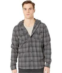 Quiksilver Snap Up Hooded Flannel