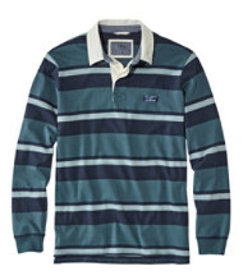 LL Bean Lakewashed Rugby, Traditional Fit Long-Sle