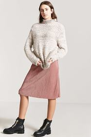Forever21 Accordion Pleat Skirt