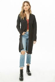 Forever21 Marled Duster Cardigan
