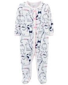 Osh Kosh Baby GirlCat Snap-Up Thermal Sleep & Play