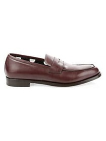 Paul Smith Wolf Penny Loafers BORDEAUX