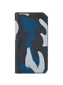 Uri Minkoff Saffiano Leather Folio iPhone 7 Case B