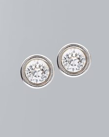Stud Earrings with Crystals From Swarovski®