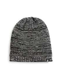 Block Headwear Marled Knit Beanie BLACK