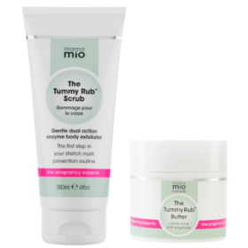Mama Mio Stretch Mark Prevention Duo (Scrub + Butt