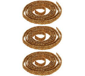 """As Is"" Set of (3) 9' Spiral Glitter Ribbons by Va"