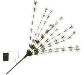 """As Is"" Bethlehem Lights Long Needle Sprig - H2181"