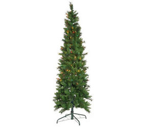 """As Is"" Bethlehem Lights 7.5' Green Sonoma Spruce"